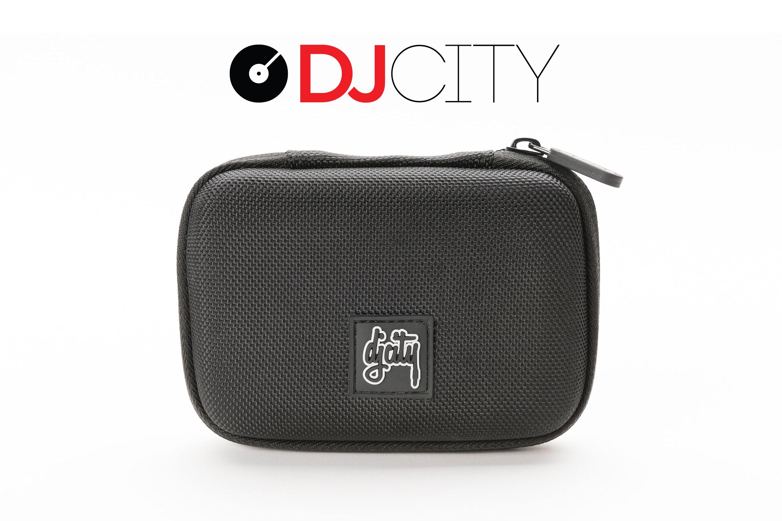 "Magma-bags USB CASE ""DJcity EDITION"" (czarny/szary)"