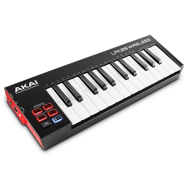 AKAI LPK25 WIRELESS - Mini klawiatura steruj±ca