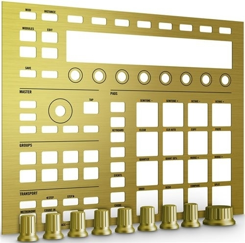 Native Instruments MASCHINE CUSTOM KIT - solid gold